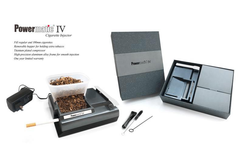 Powermatic 4 Elektrische Zigarettenstopfmaschine mit box